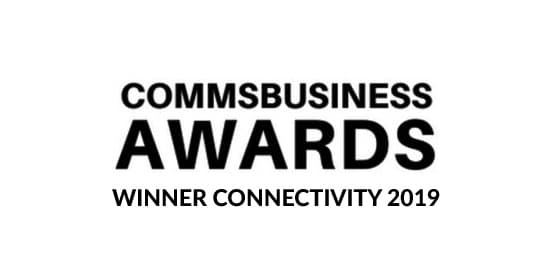 Comms Business Awards 2019 Winner Logo