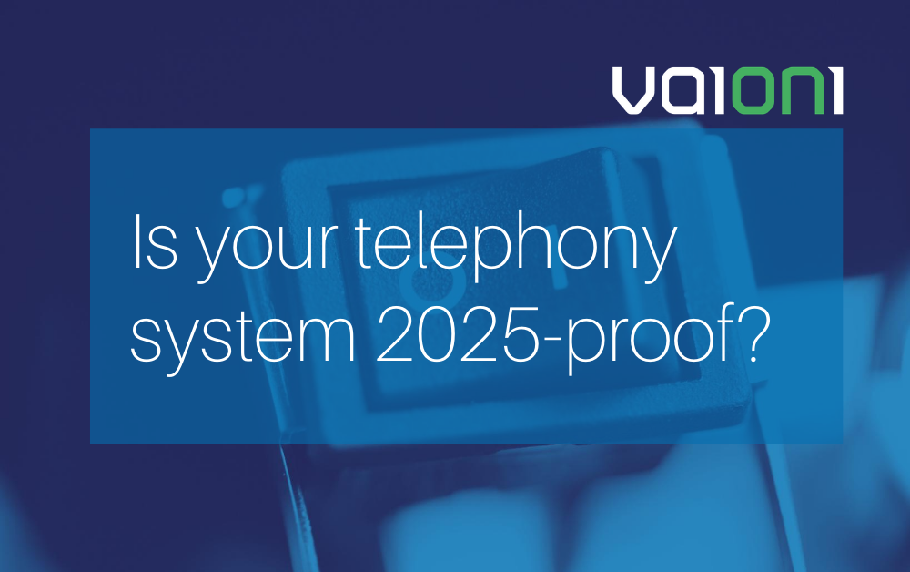 Why you shouldn't wait for getting back to the office to adopt a 2025-proof UC calling solution